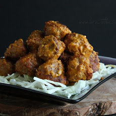 Carolina BBQ Meatballs (Low Carb & Gluten Free)
