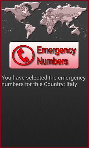 全球緊急電話號碼