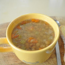 Lentil and Veggie Soup