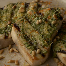 Swordfish With Citrus Pesto