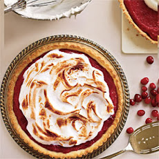 Meringue-Topped Cranberry Curd Tart