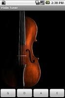 Screenshot of Violin Tuner