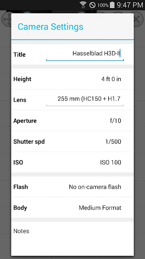 Photo Studio Light Setup - screenshot