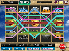 Screenshot of Slots - Zeus Way Cash Titans