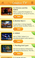 Screenshot of Children TV ~ videos for kids