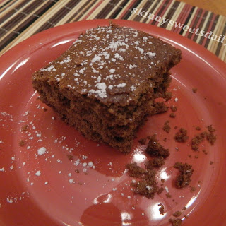 One Bowl Moist Apple Butter Spice Cake