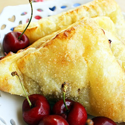 Bing Cherry Turnovers