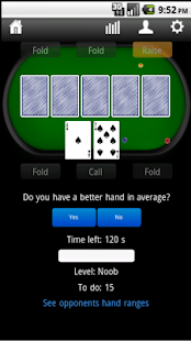 Pokertrainer Screenshot