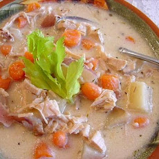 Creamy Turkey Soup (Crock Pot)