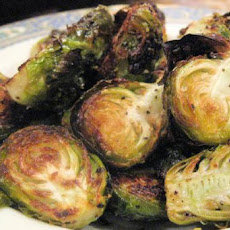 Roasted Brussels Sprouts!