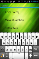 Screenshot of Famous People Of India