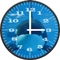 Killer Whale 1 Analog Clock icon