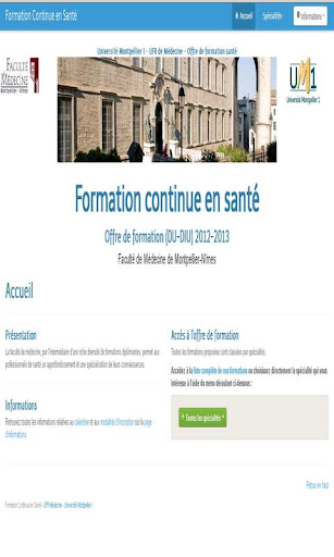 FORMATIONS SANTE MONTPELLIER