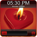 Flame Heart Go Locker Theme