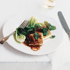 Panfried Tofu with Asian Caramel Sauce