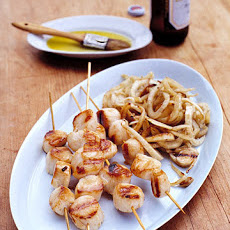 Grilled Sea Scallops and Fennel