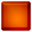3D Orange Keyboard Skin icon