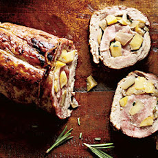 Apple and Rosemary Pork Roulade