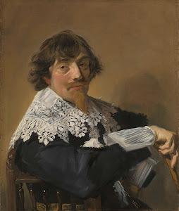 RIJKS: Frans Hals: Portrait of a Man 1635