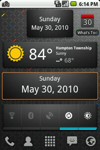 What's Today Calendar Widget
