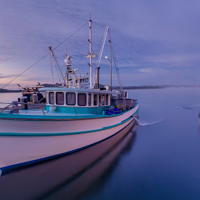 Greenwell Boats by Andy Hutchinson - Transportation Boats