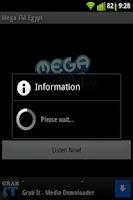Screenshot of Mega FM 92.7