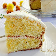Delicious Orange Cake With Orange Buttercream Frosting