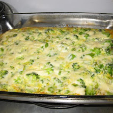No-Crust Broccoli Quiche