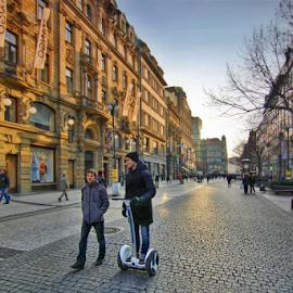 by Irena Brozova - City,  Street & Park  Street Scenes
