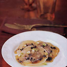 Chestnut Ravioli with Sage Browned Butter