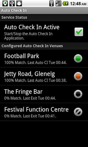Auto Check In