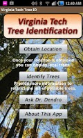 Screenshot of Virginia Tech Tree ID