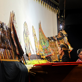 Wayang  by Herry Wibowo - People Musicians & Entertainers