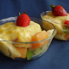 Fresh Fruit Medley with Mango and Honey Yoghurt