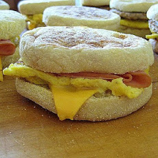 Freezer Egg and Muffin Sandwiches