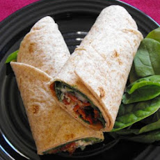 Easy Spinach Wraps