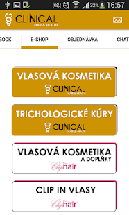 CLINICAL HAIR & HEALTH - screenshot