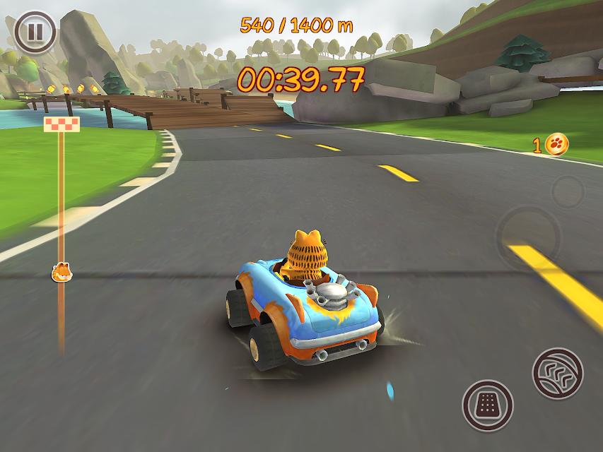 Garfield Kart Для Андроид