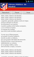 Screenshot of Atletico Madrid Anthem