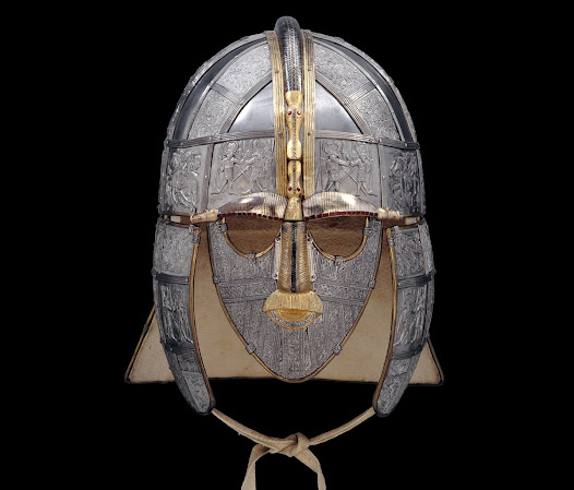 Replica of the Sutton Hoo helmet