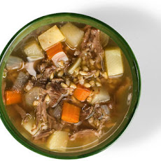 Oxtail and Barley Soup  Recipe