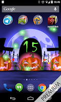 Screenshot of Halloween Live Wallpaper HD