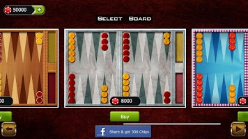 Screenshot of Backgammon Championship