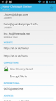 Screenshot of Gnu Privacy Guard