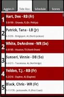 Screenshot of SEC Football Guide 2014