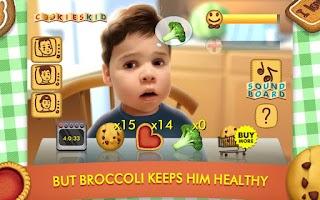 Screenshot of Talking Cookies Kid