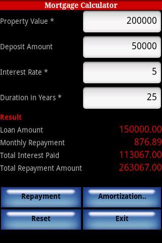 【免費財經App】Mortgage Calculator-APP點子