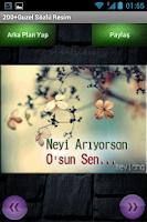 Screenshot of 200+ Güzel Sözlü Resim