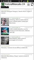 Screenshot of CalcioMercato 24