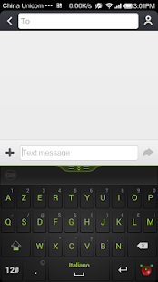 Guobi Italian Keyboard - screenshot